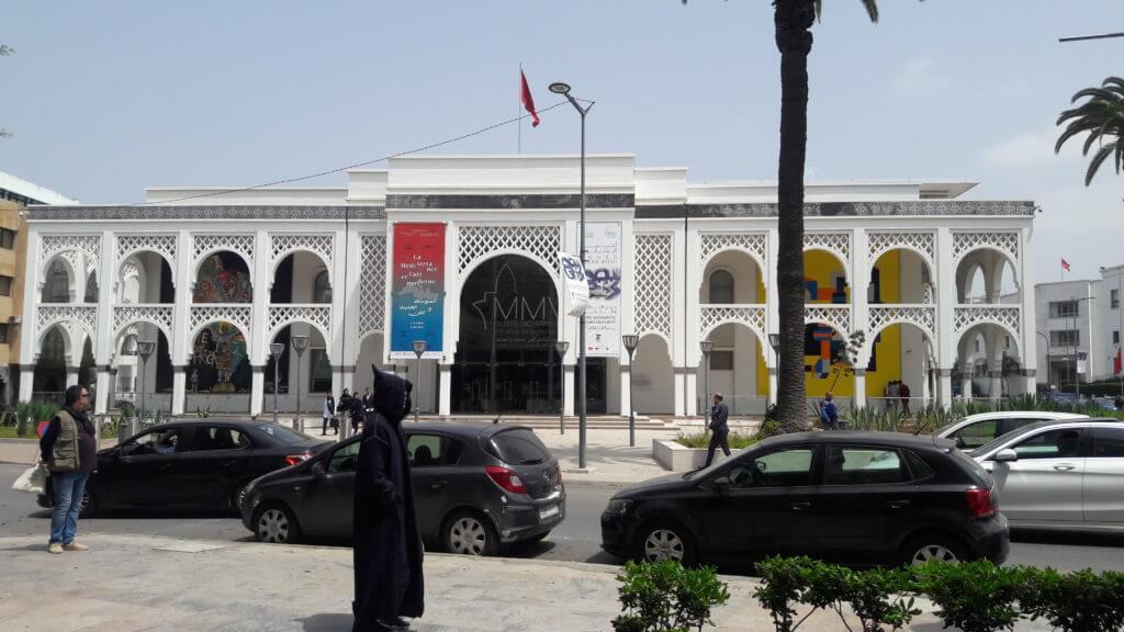 O Museu de Arte Contemporânea de Rabat