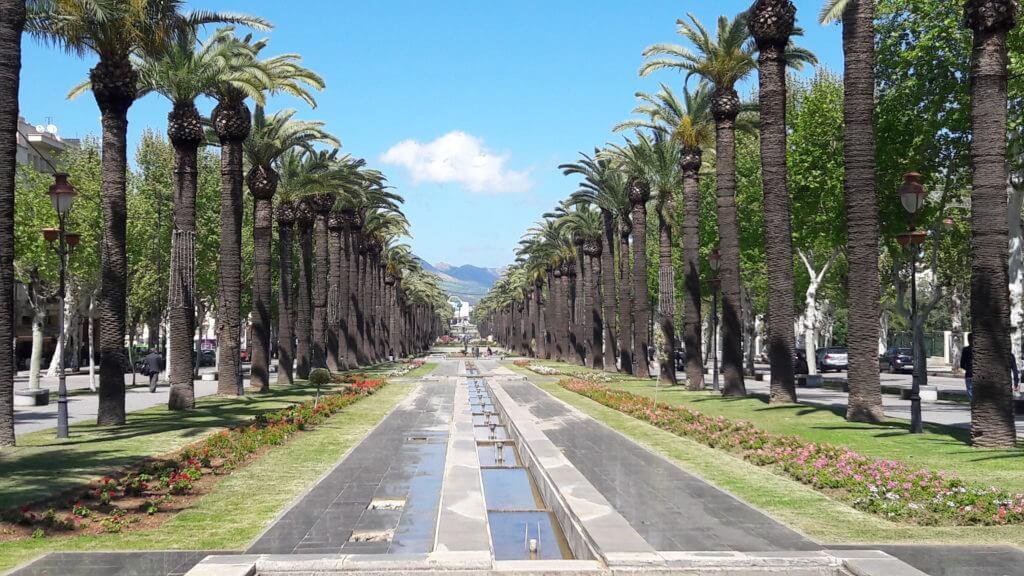 Dizem que os franceses queriam construir uma Champs Elisees no Marrocos