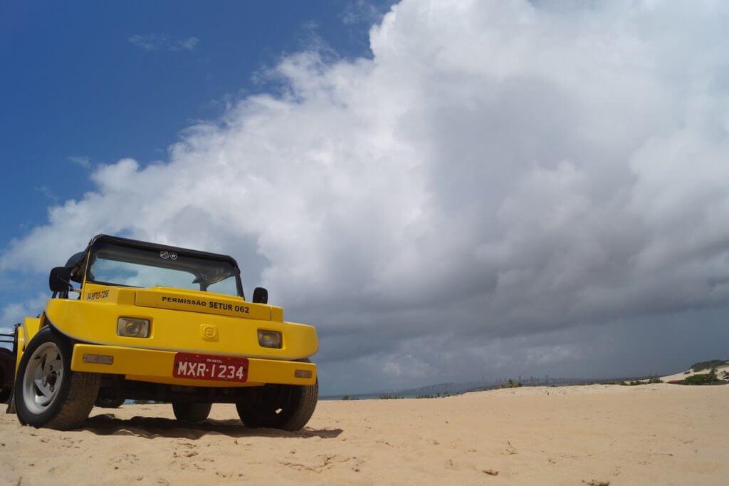 Passeio de buggy em Natal pelas dunas de Genipabu