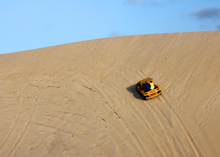 A montanha russa de areia. Crédito www.natalonline.com