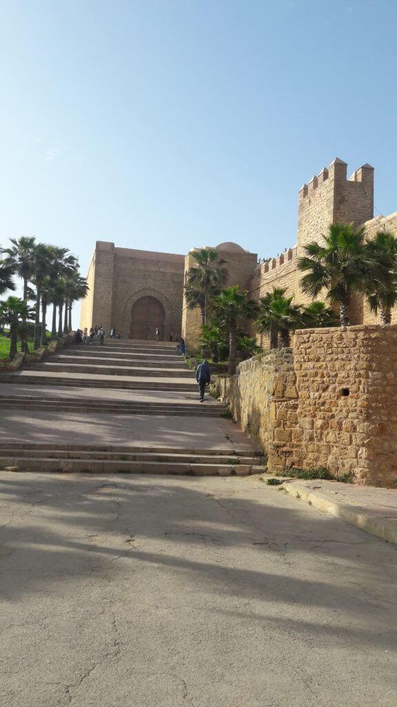 O Casbá dos Udaias e seu Portão Monumental