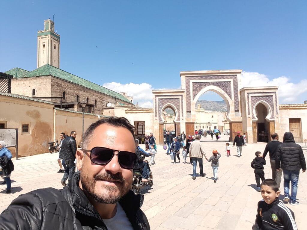 Outro belo portão de acesso á Medina, agora na Praça Rcif