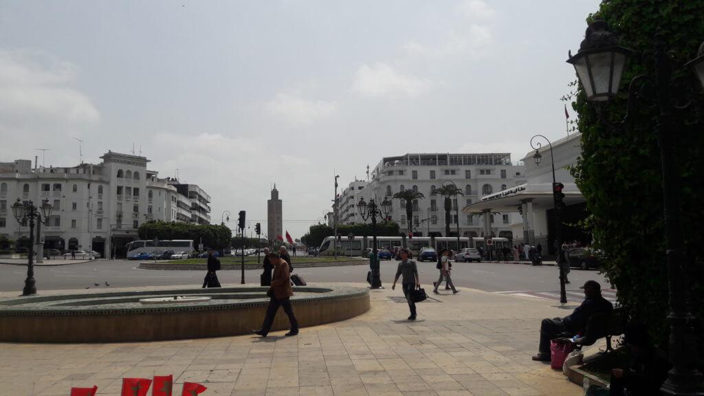 Rabat é uma cidade moderna, com largas avenidas