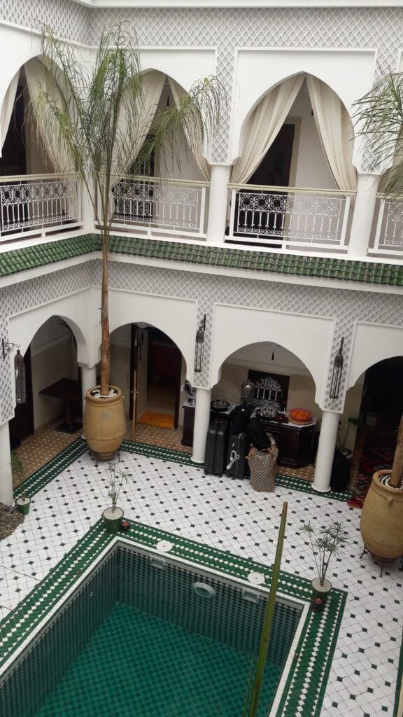 Meu palácio particular durante minha estadia em Marrakesh