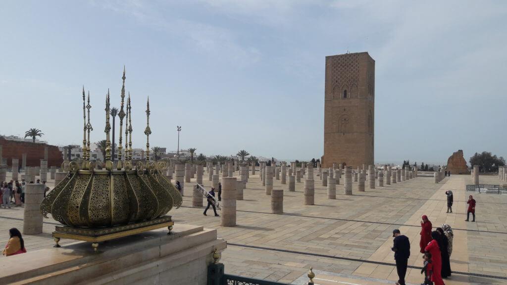 A Torre Hassan é um símbolo de Rabat. O que ver em Rabat