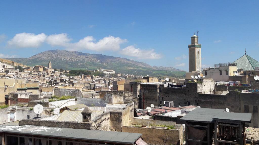 A grande Medina de Fez