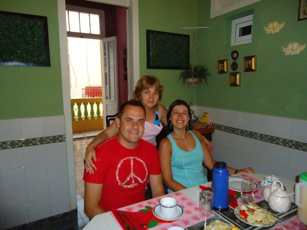 Nossa casa em Cuba