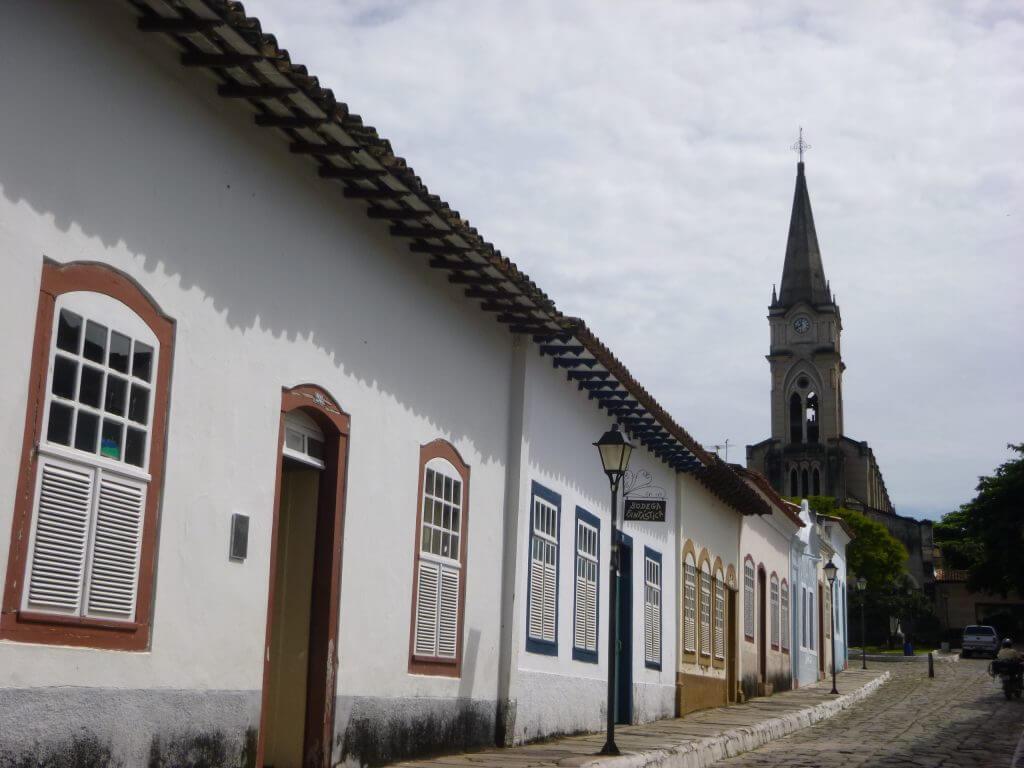 As ruas históricas da Cidade de Goiás Velho