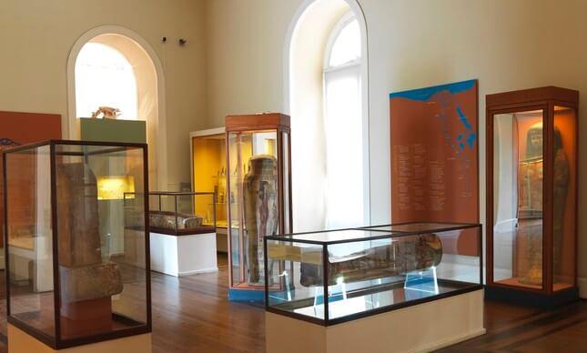 Coleção de múmias adquiridas por D.Pedro