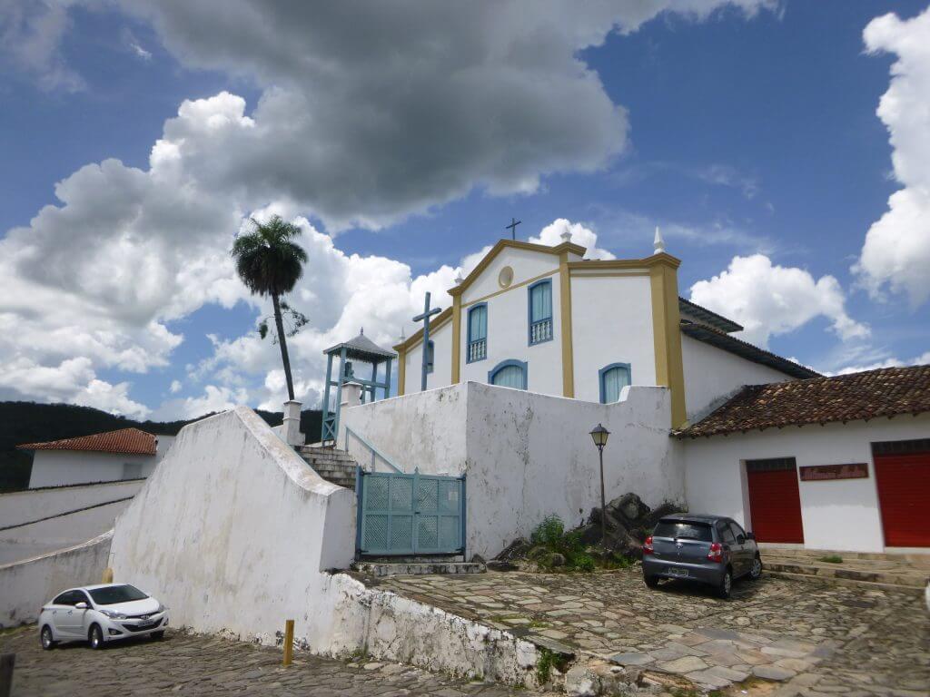 A Igreja de Santa Bárbara em Goiás Velho