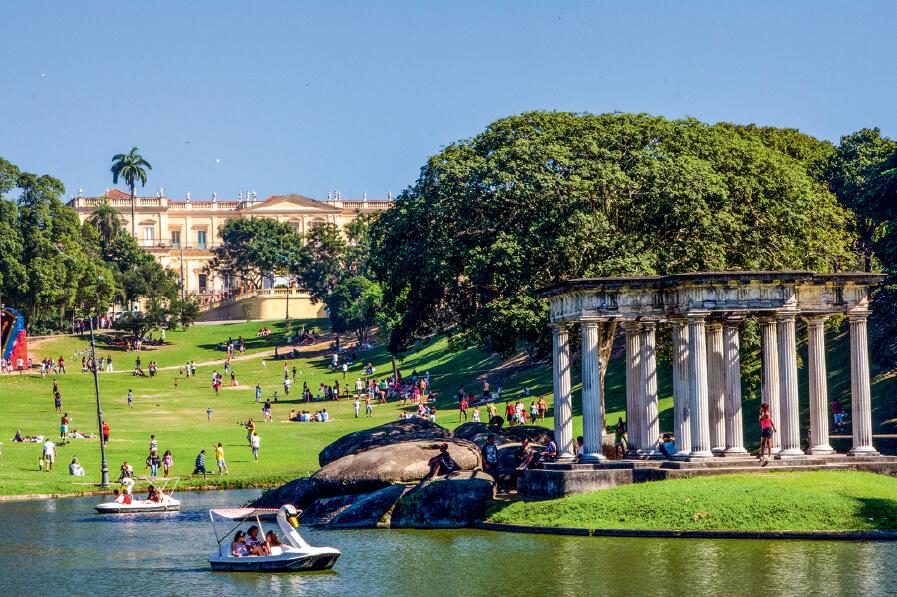 A Quinta da Boa Vista e o Museu Nacional. Incêndio no Museu Nacional do Rio de Janeiro