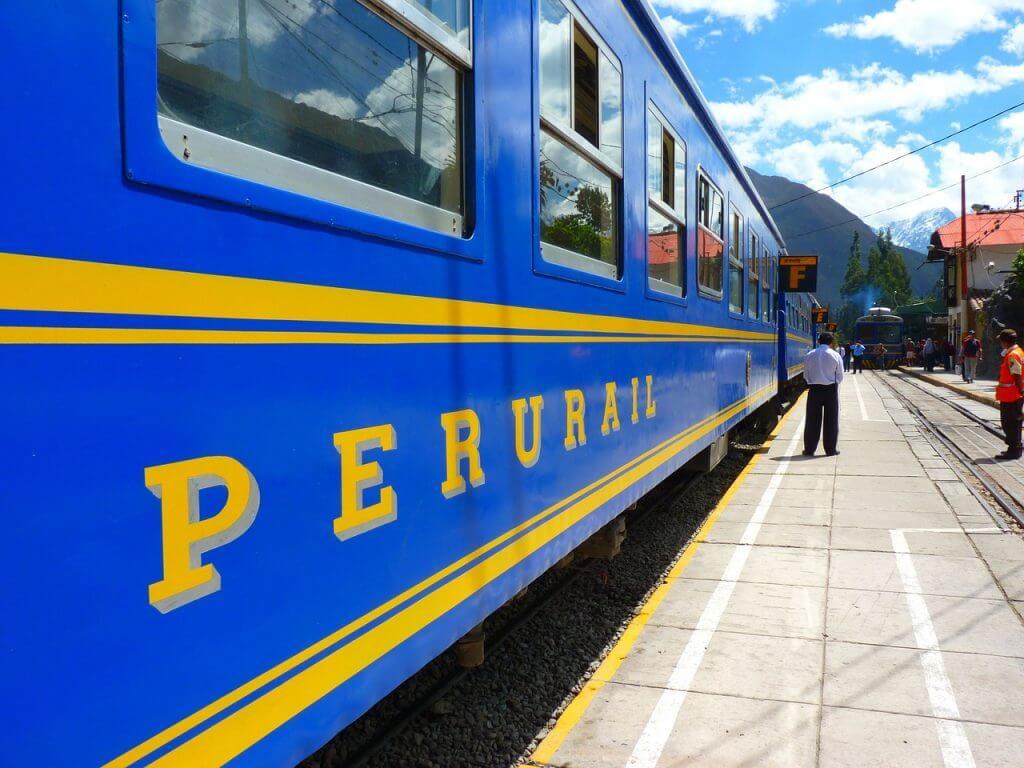 A épica viagem de trem para Machu Pichu