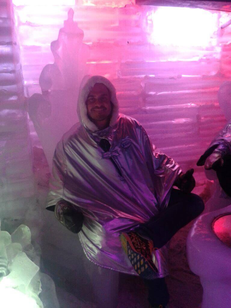 O Bar de Gelo é uma experiência divertida em El Calafate