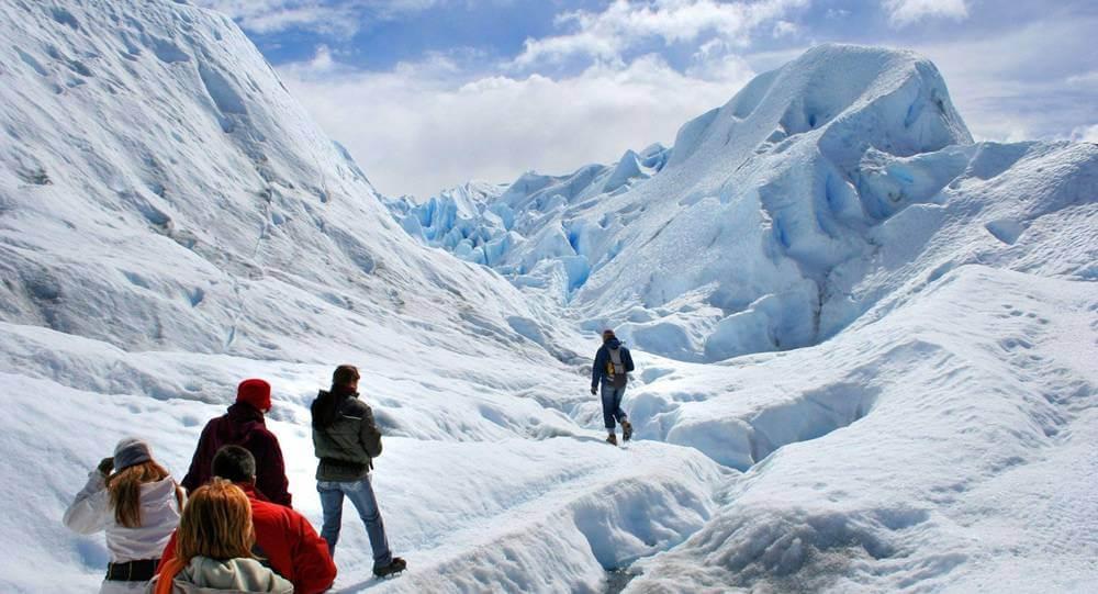 O Big Ice é um trekking com nível difícil porém possibilita conhecer um pouco mais do Perito Moreno