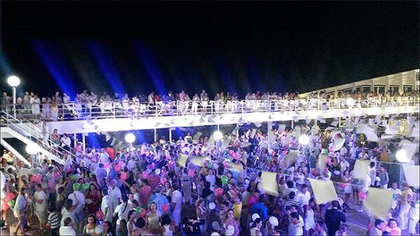 A festa de Reveillon - crédito: www.hoteisepousadasem.com.br