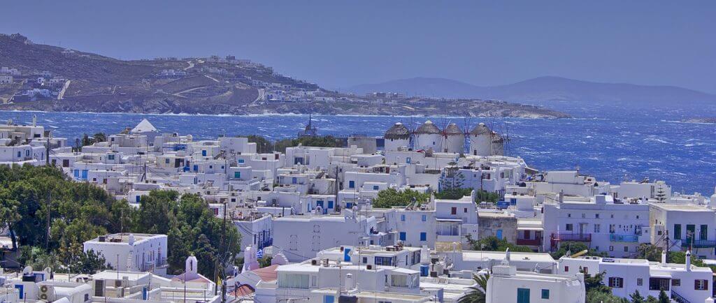Mykonos: onde o branco e azul dominam a paisagem. O que fazer em Mykonos