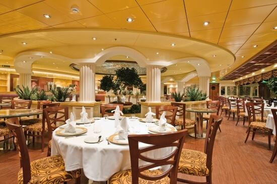 O lindo restaurante com serviço À Francesa - Crédito: diariodebordomsc.com.br