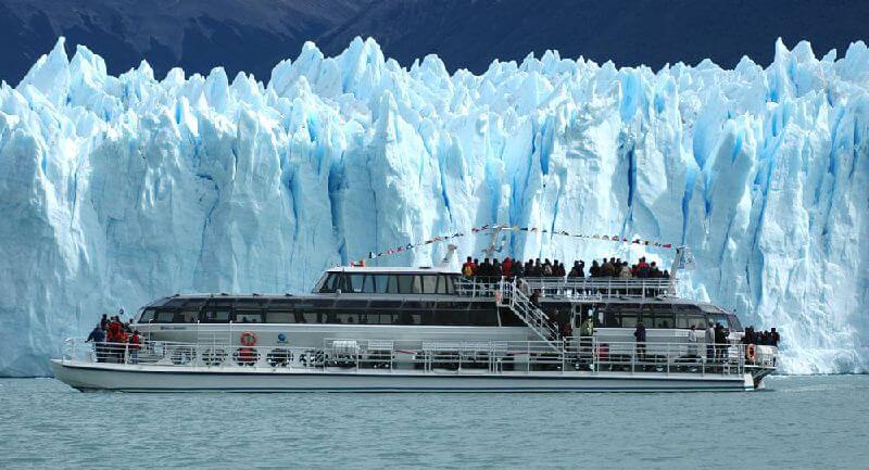O Safári Náutico. Crédito. www.hieloyaventura.com.br