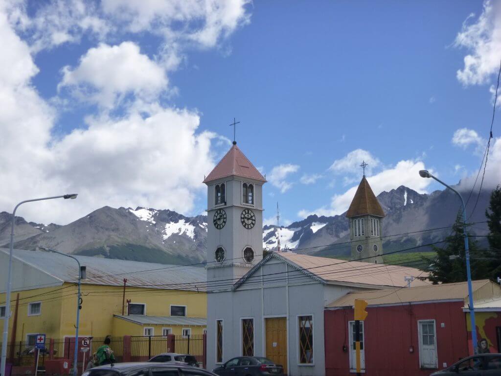 A cidade de Ushuaia