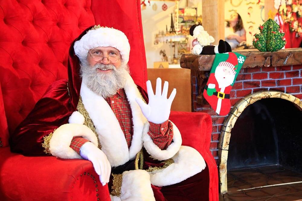 Toda a magia da Vila de Natal