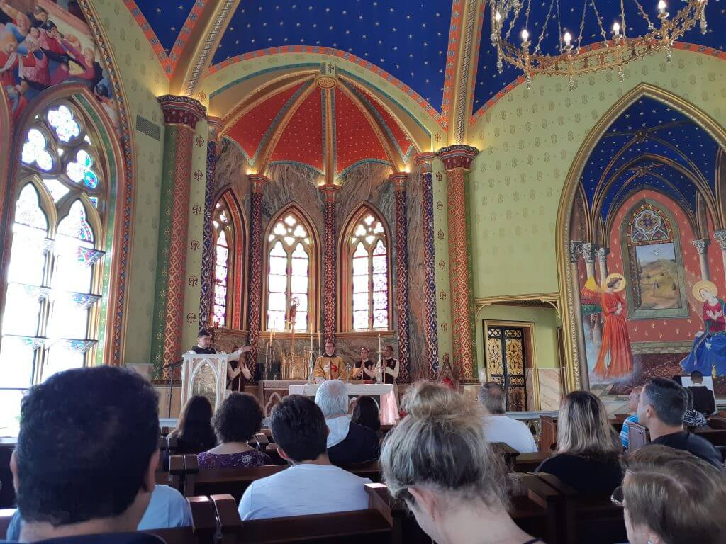 O Castelo dos Arautos na verdade é a Igreja dos Arautos do Evangelho
