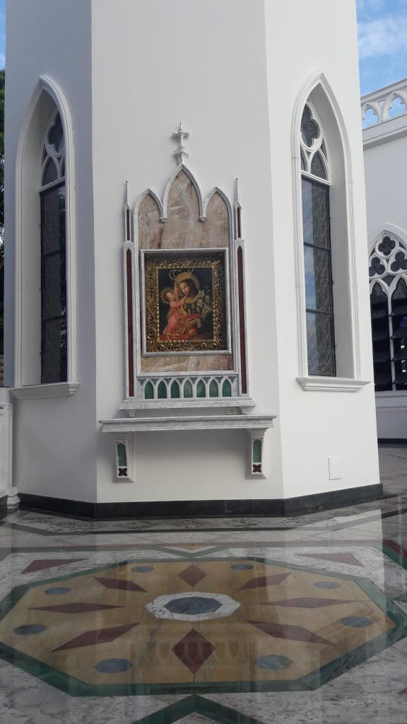 A Capela destinada às confissões