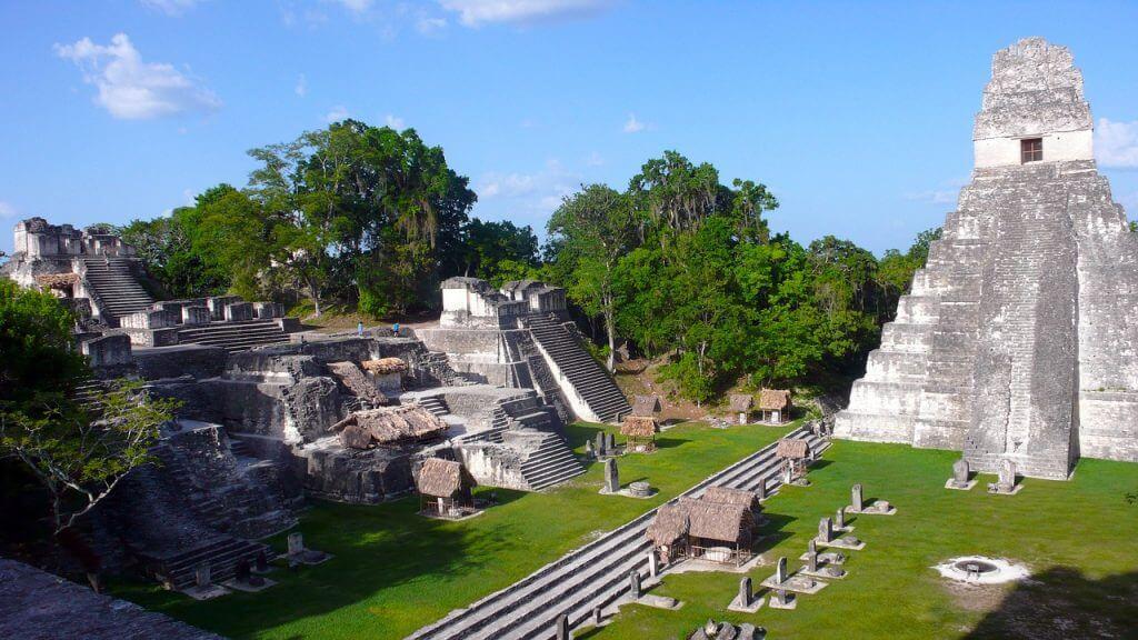 O Grand Jaguar em Tikal