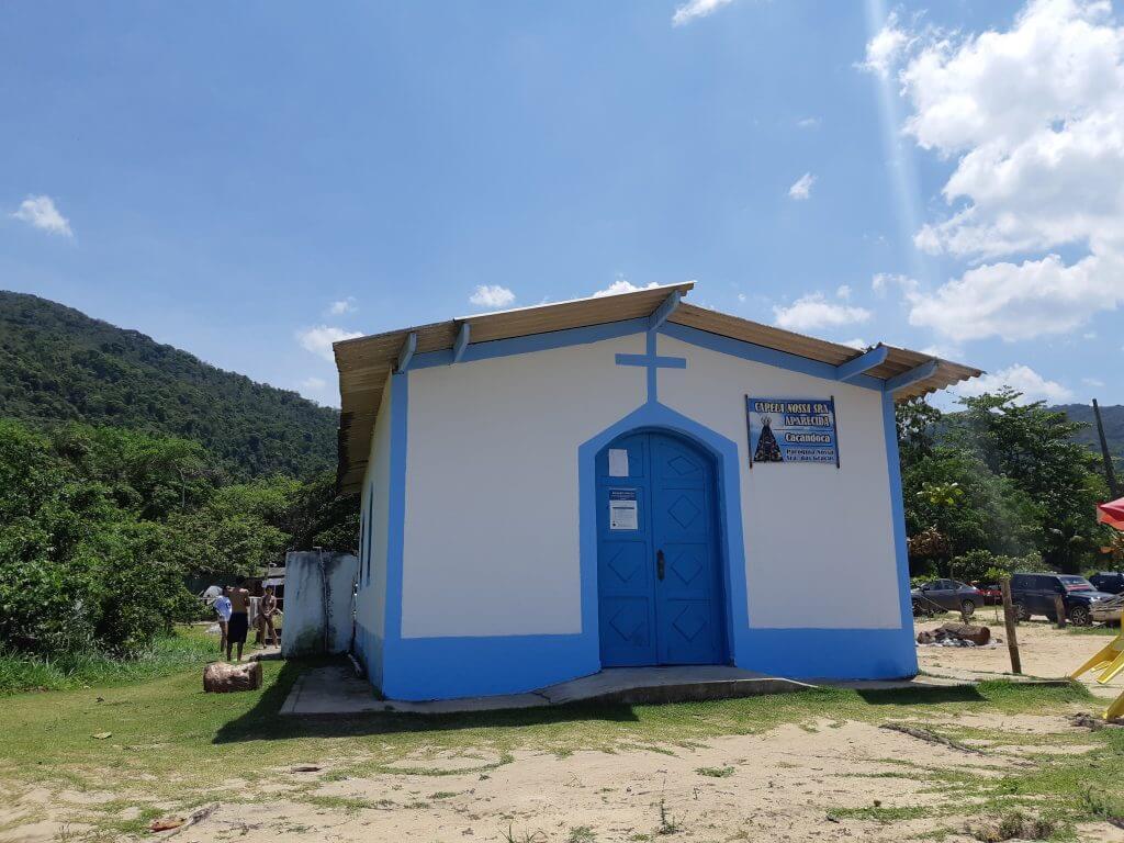 A pequena Igreja de Nossa Senhora Aparecida