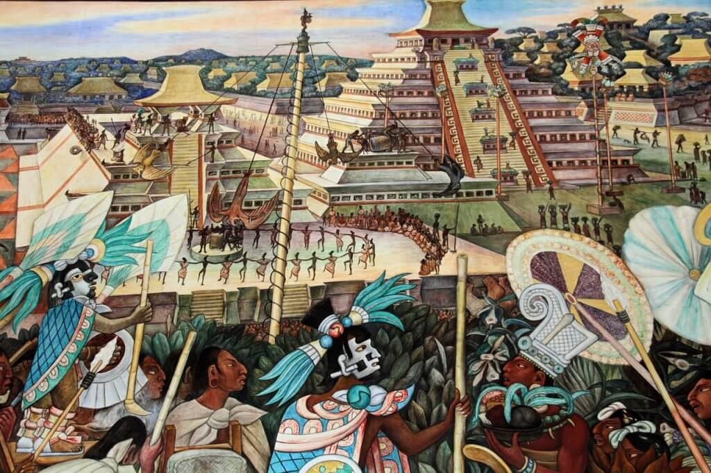 Os coloridos murais de Diego Rivera