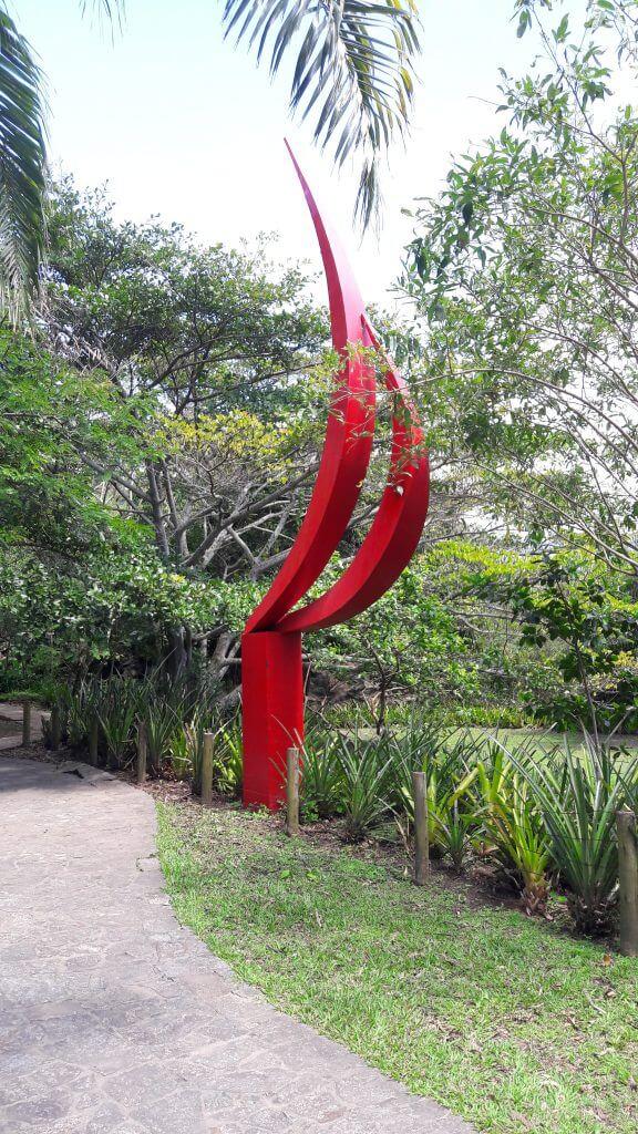 Obra de Arte no Parque Dois Irmãos