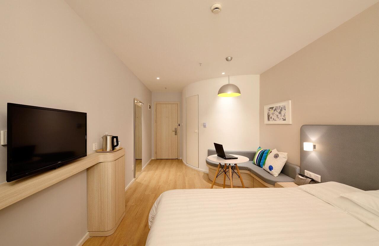 Classificação de hotéis por estrelas: Quantas teria este quarto ?