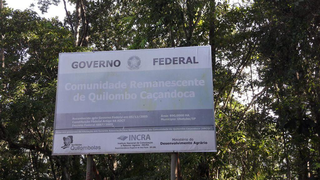 Vale lembrar da luta dos quilombolas para reconhecimento de suas terras