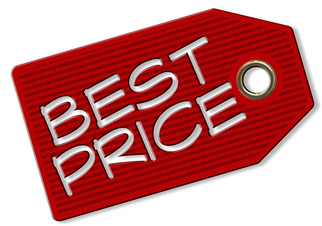 Etiqueta de preço