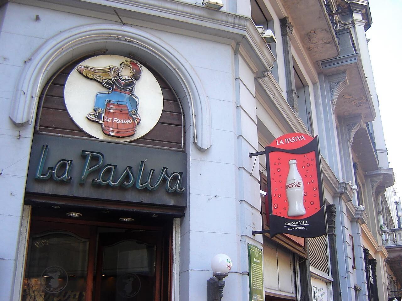 O tradicional restaurante La Pasiva em Montevidéu