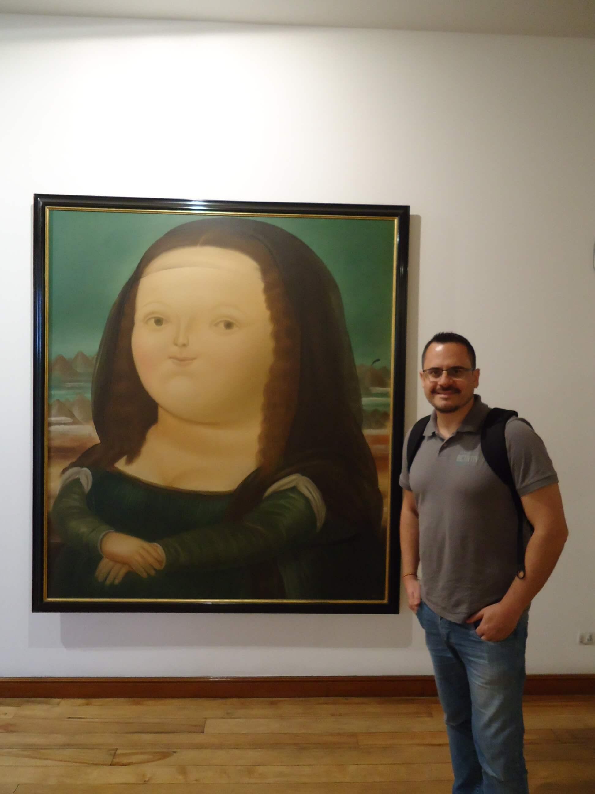 A Monalisa gordinha do Botero