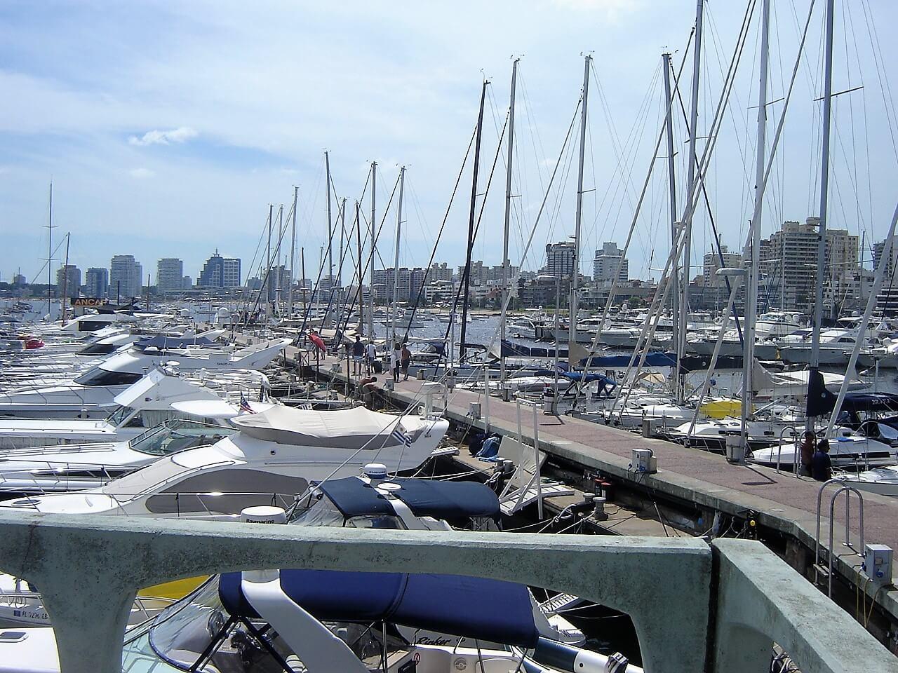 A região do Porto de Punta del Este