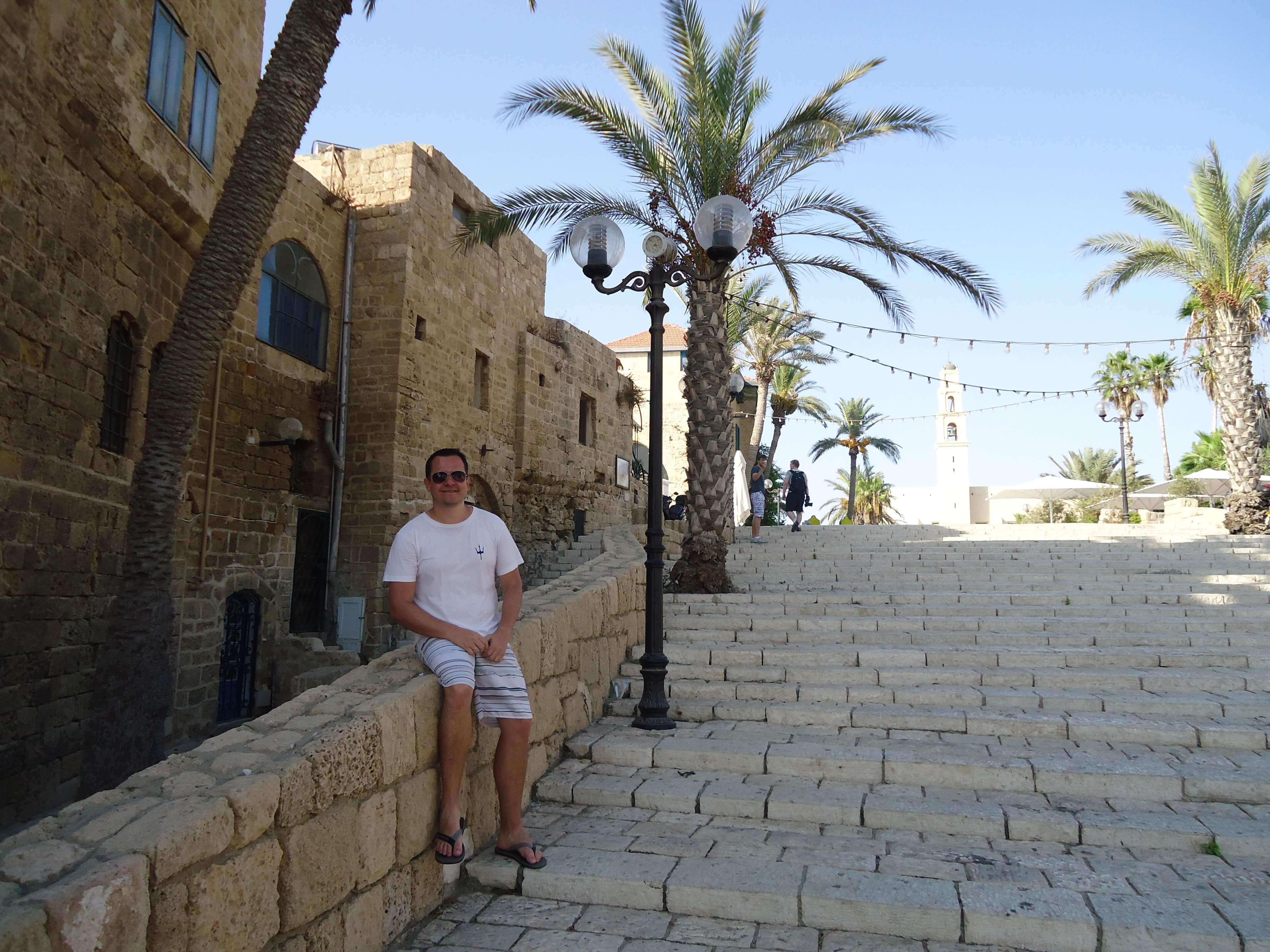 Escadaria em Jaffa