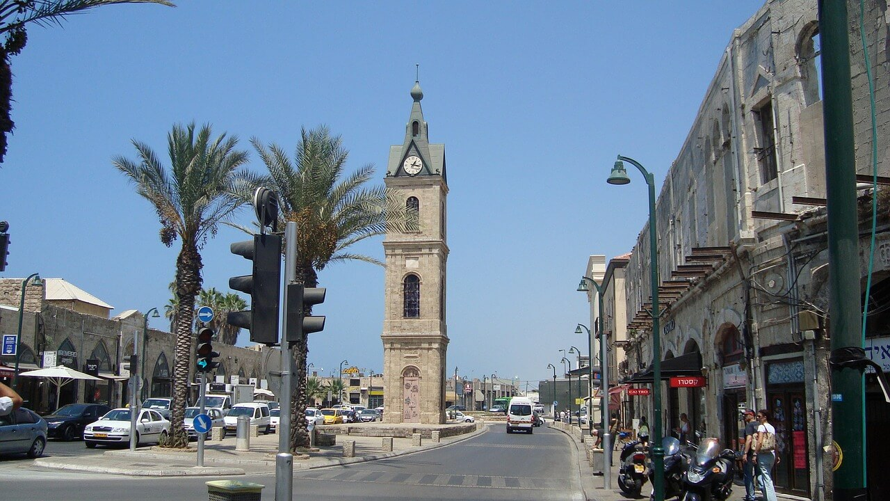 Torre do Relógio em Jaffa