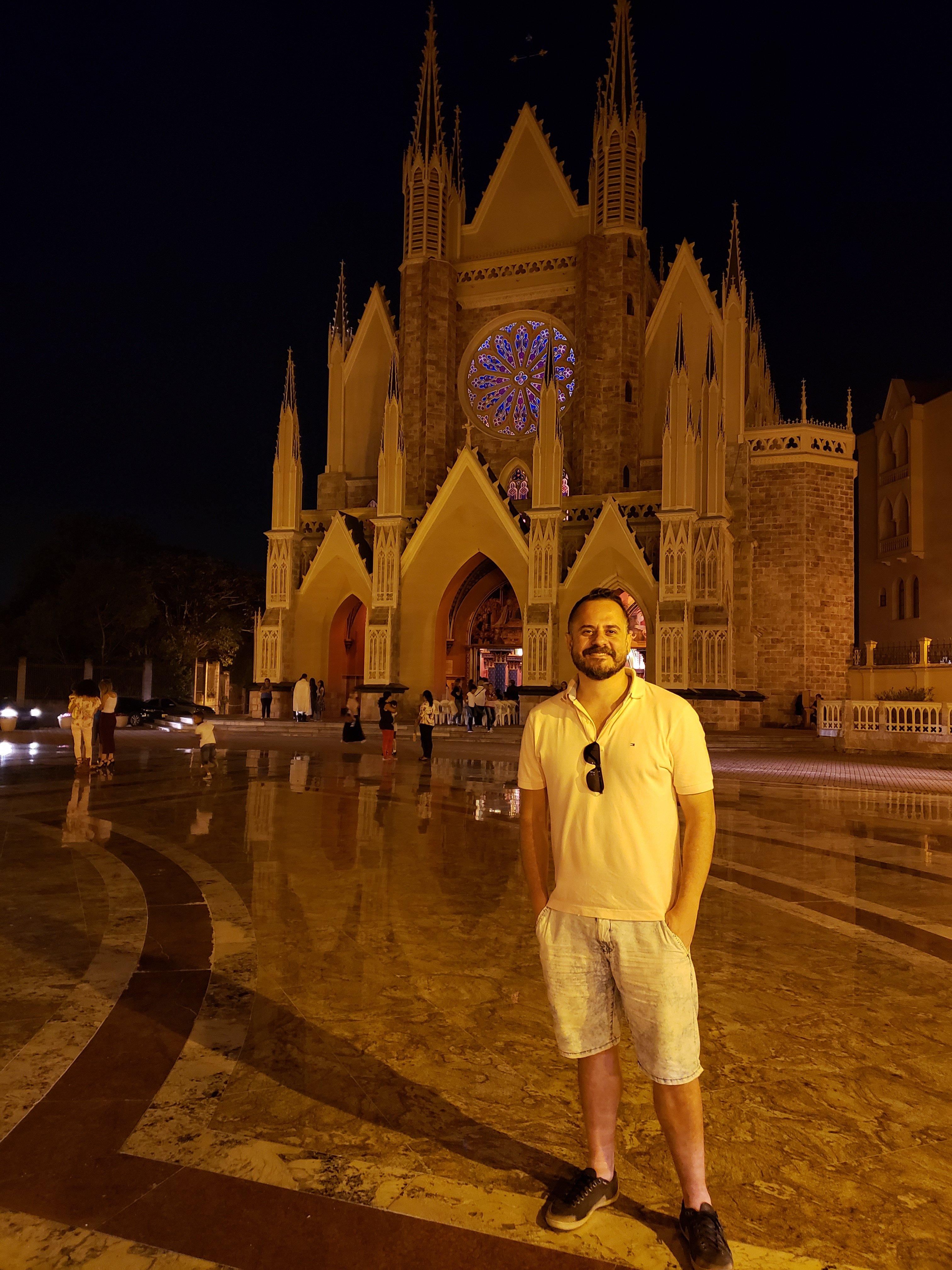 Igreja dos Arautos a noite
