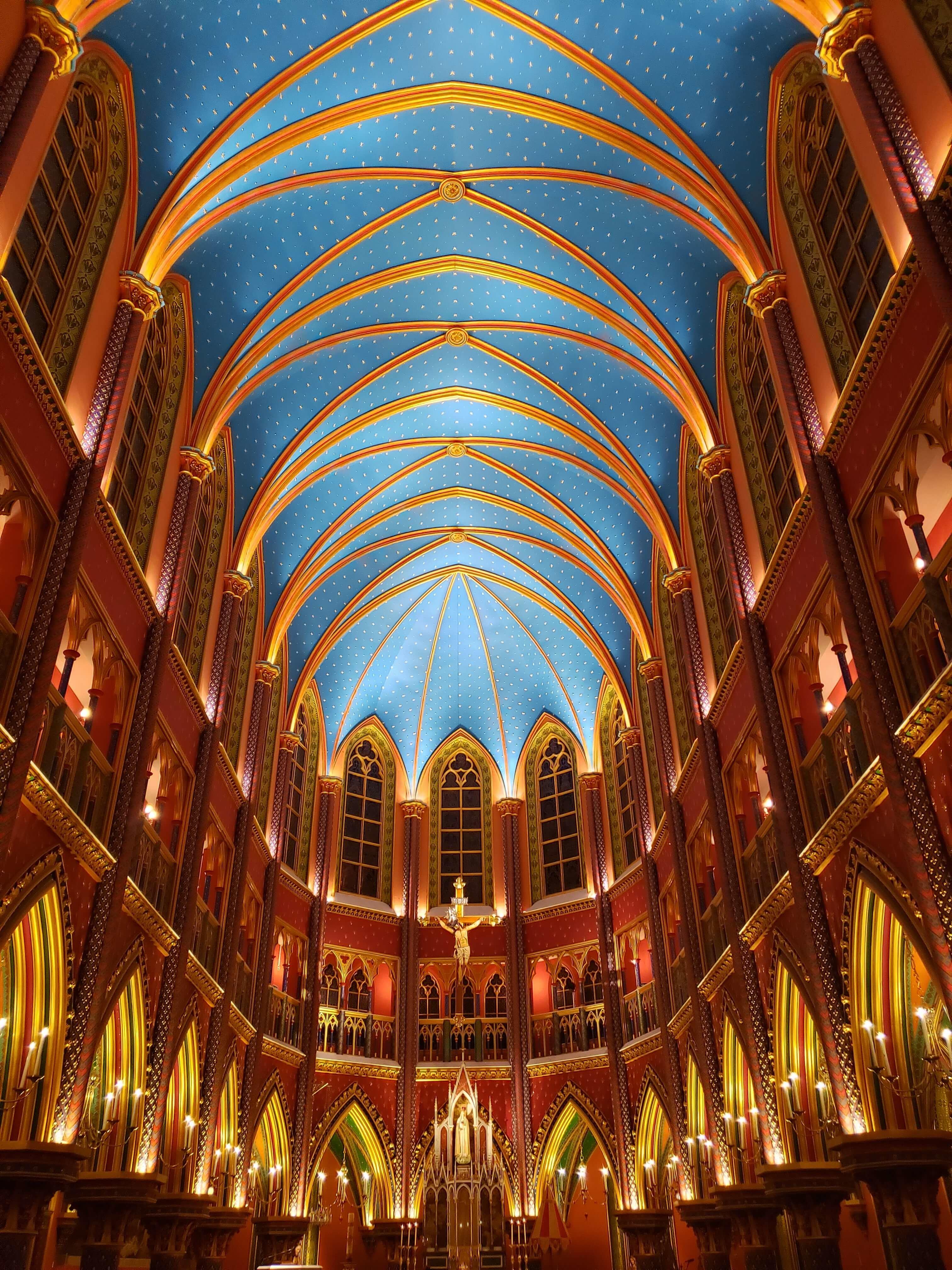 Interior Igreja dos Arautos