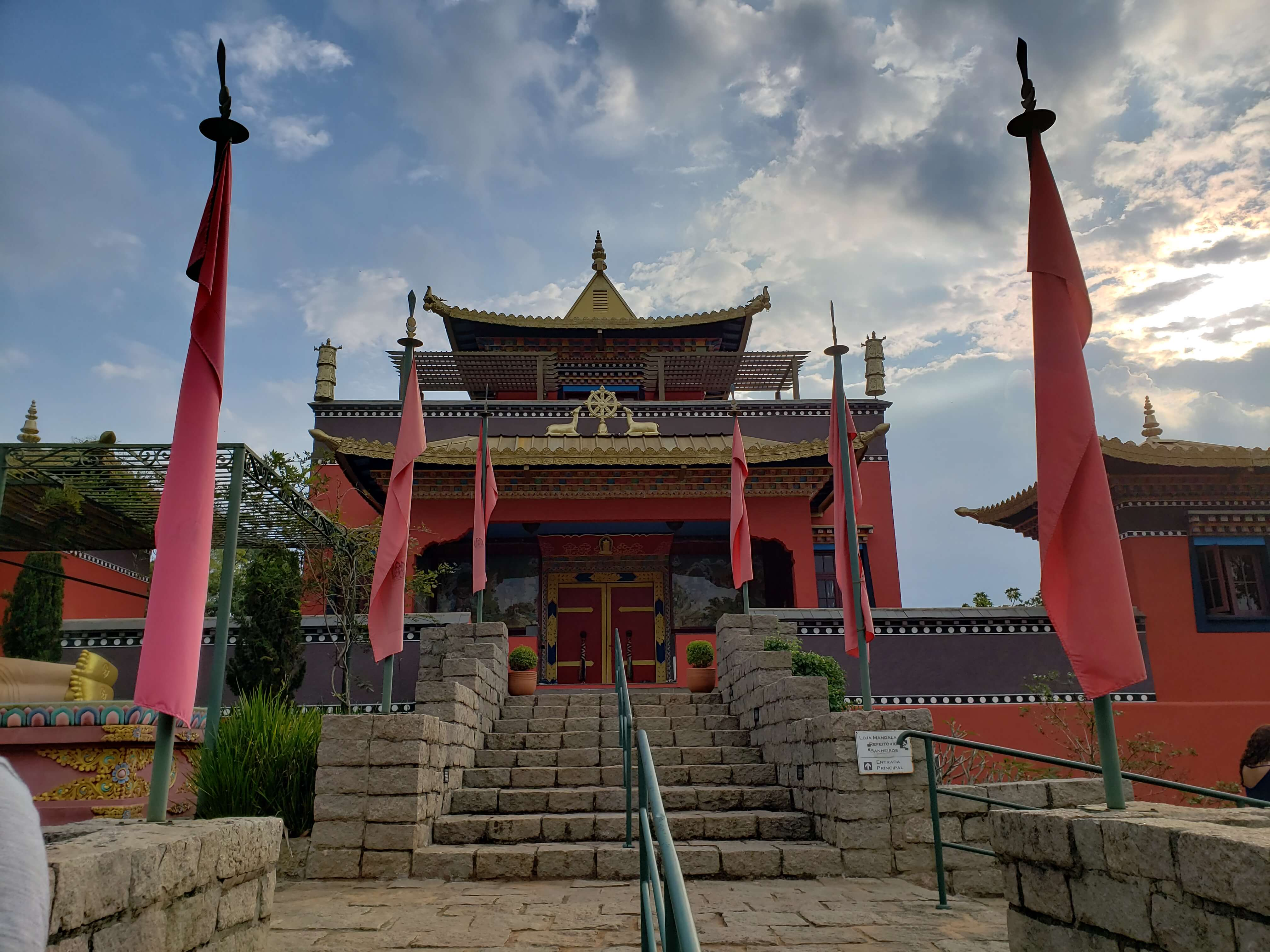 Templo Tibetano em Cotia