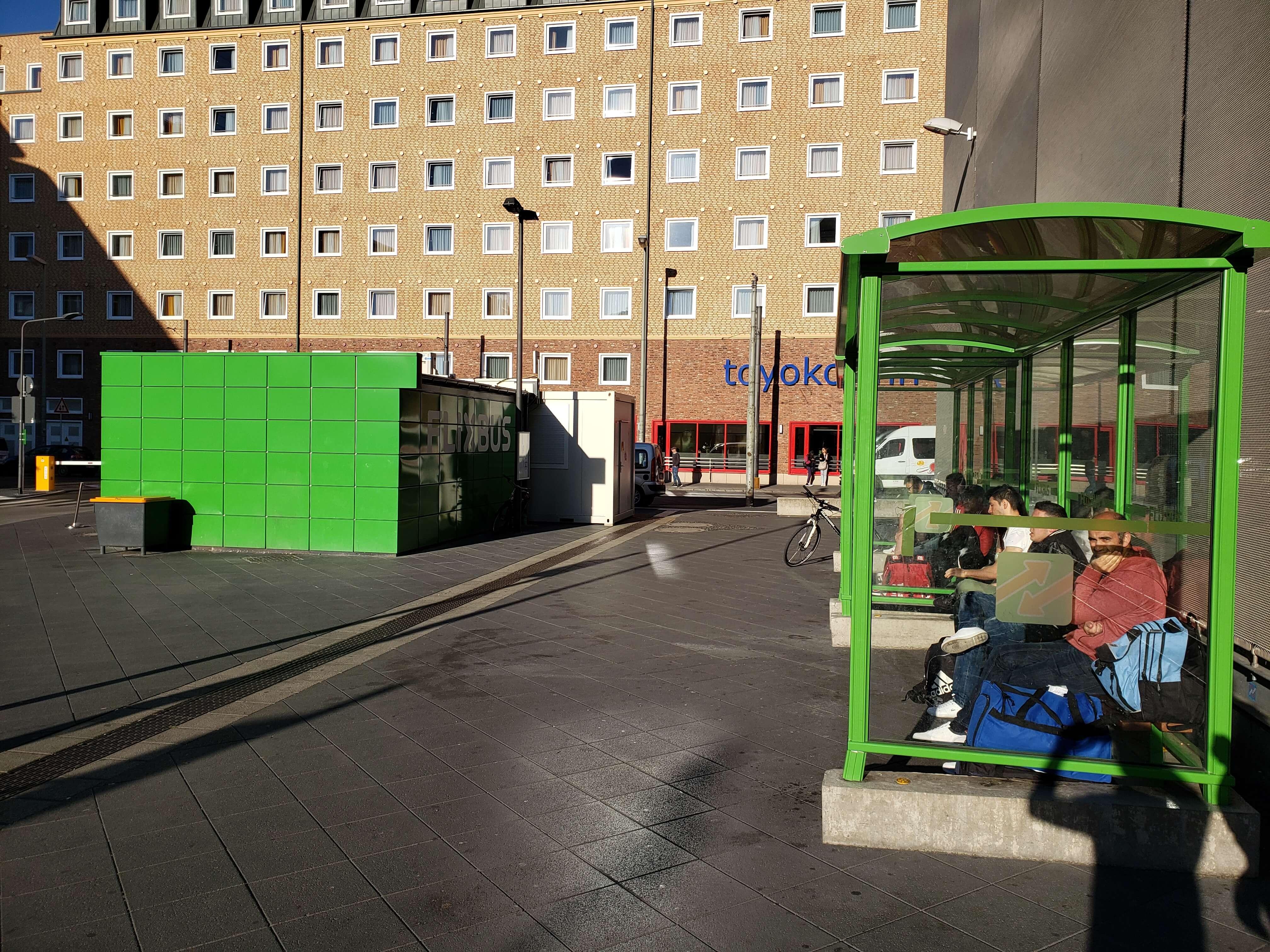 Terminal de ônibus da FlixBus