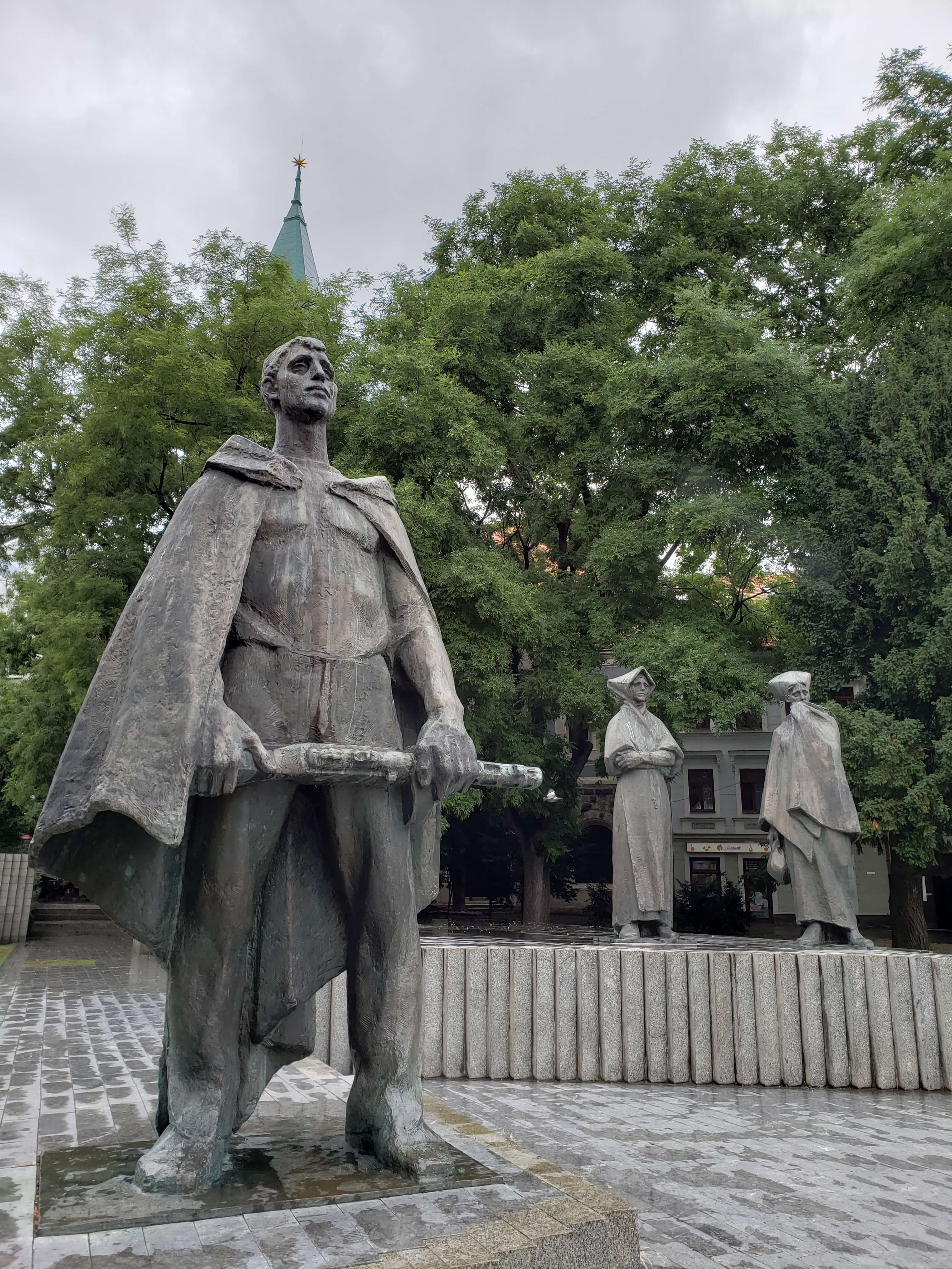 Estátuas em Bratislava