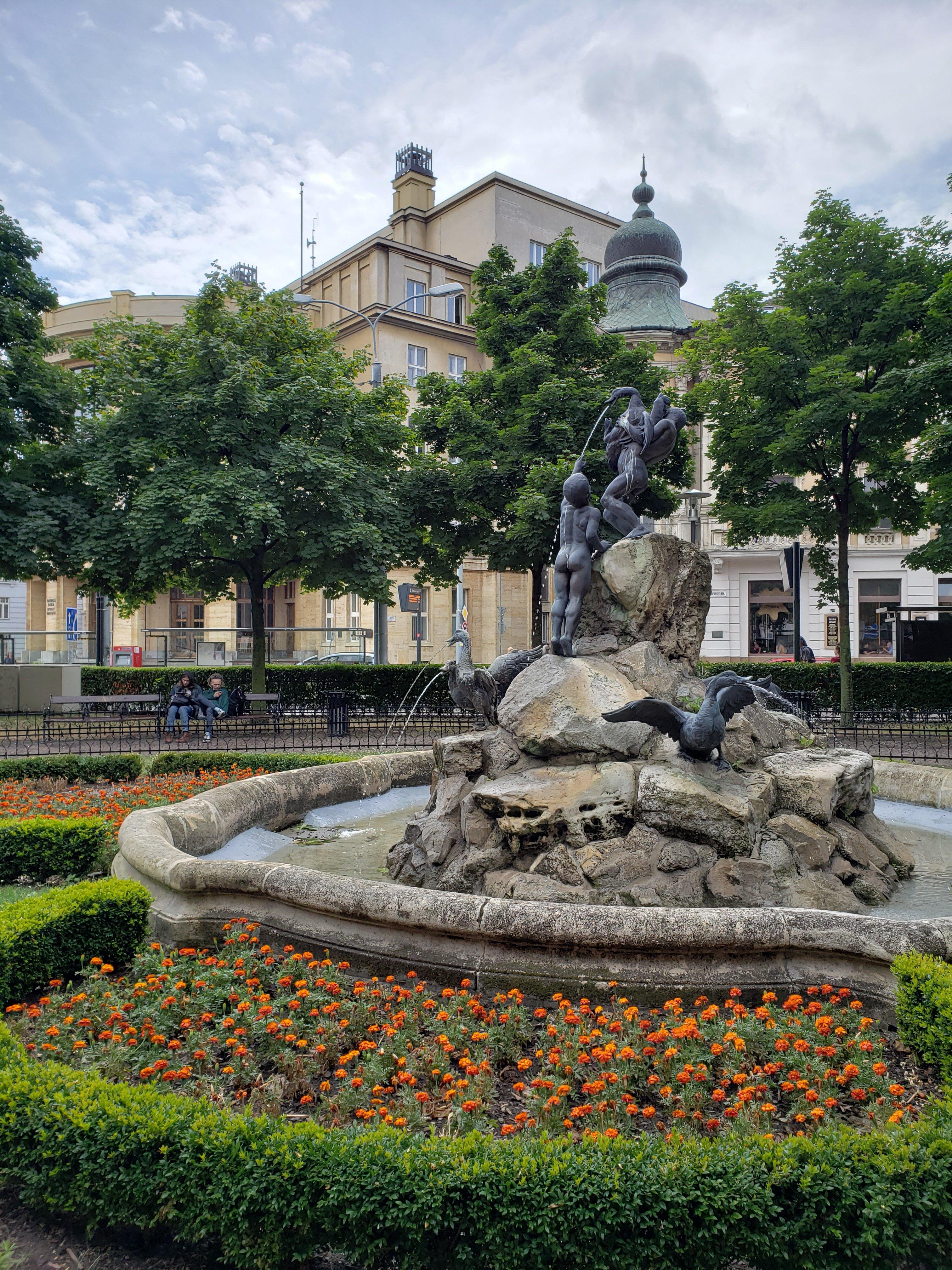 Fonte em Bratislava