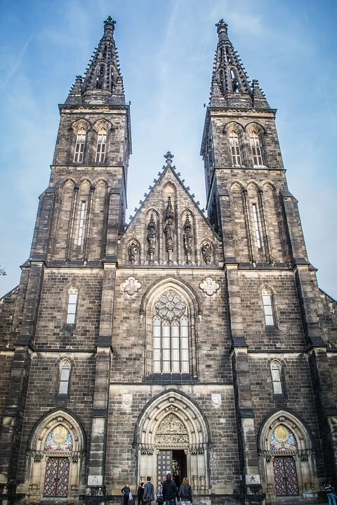 Igreja Vysehrad Praga