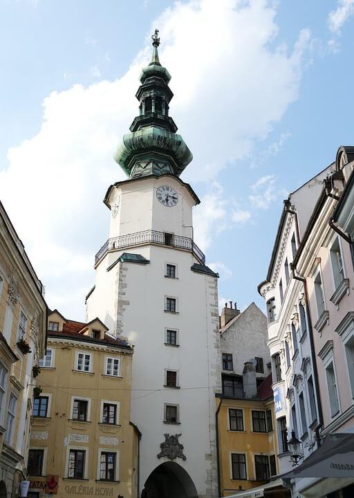 Michael´s Gate Cidade Antiga Bratislava