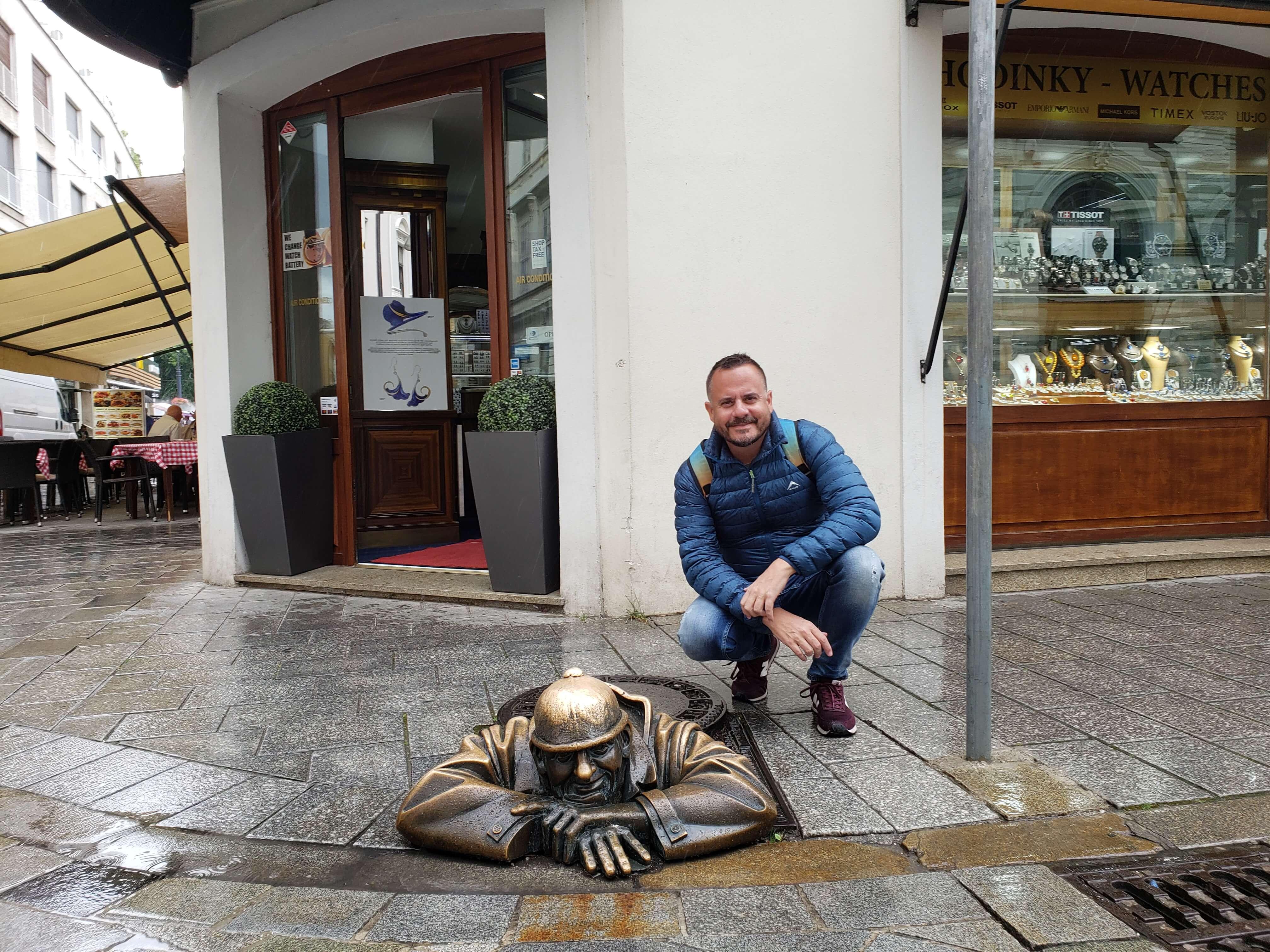 Estátua Bratislava