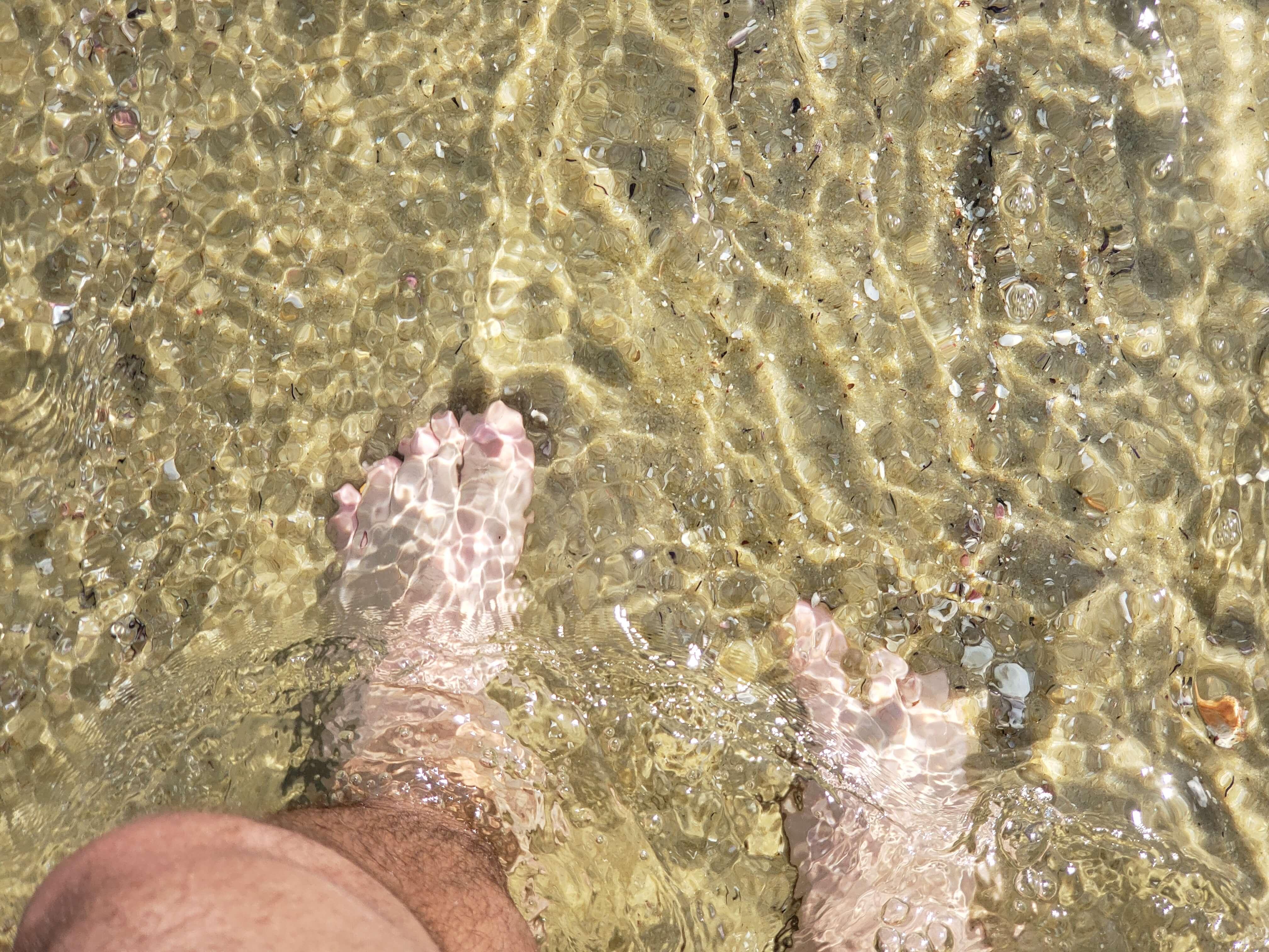 Águas transparentess