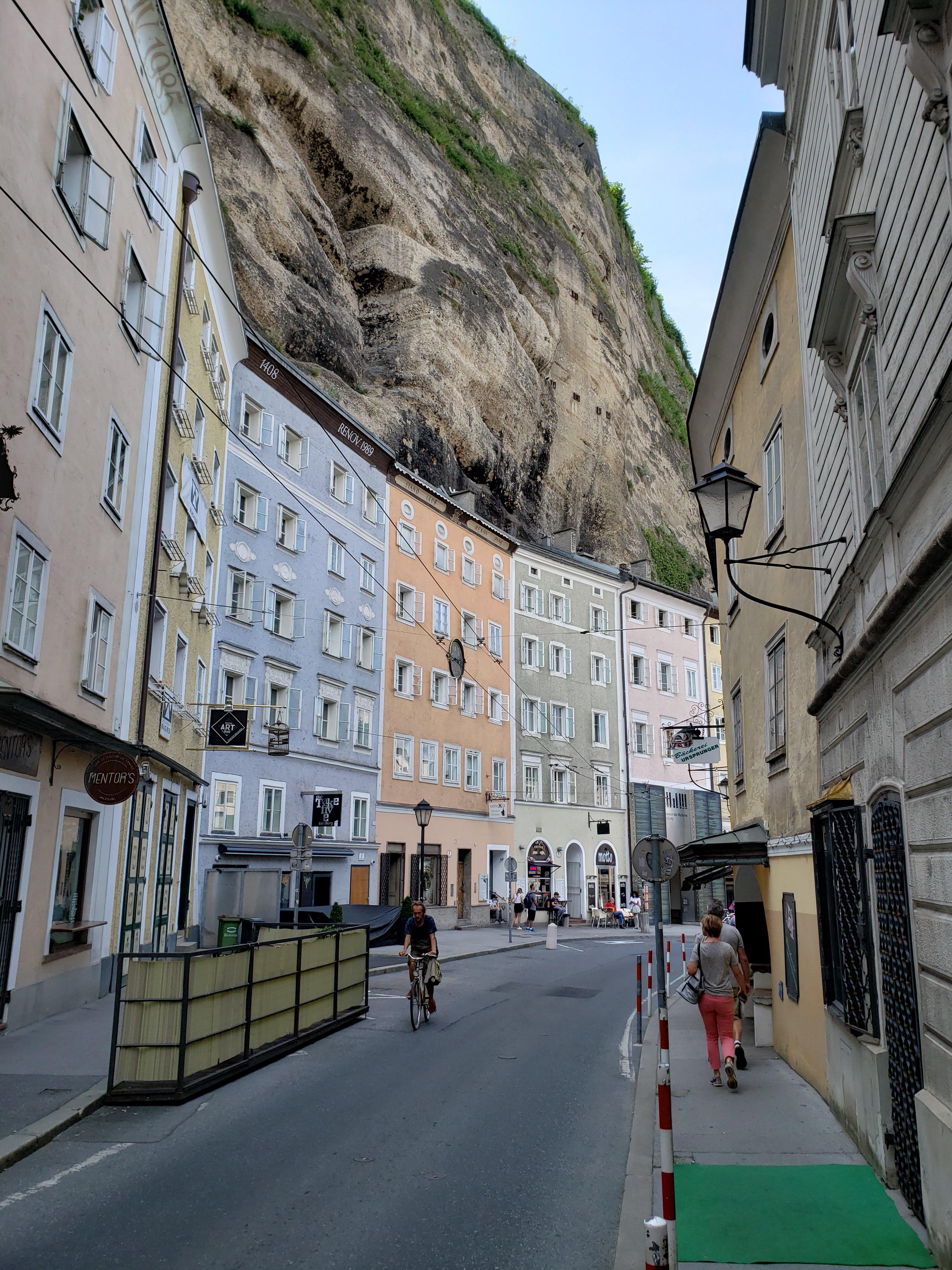 Ruas de Salzburgo